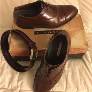 Florsheim lace dress shoes